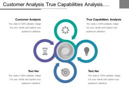 Customer Analysis True Capabilities Analysis Market Competitive Analysis