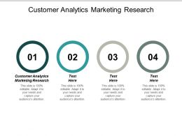 Customer Analytics Marketing Research Ppt Powerpoint Presentation Outline Example Cpb