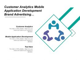 Customer Analytics Mobile Application Development Brand Advertising Reputation Management