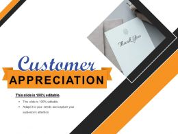 Customer Appreciation Logo PowerPoint Slide Show