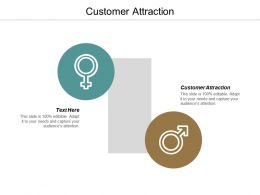 Customer Attraction Ppt Powerpoint Presentation Icon Background Images Cpb