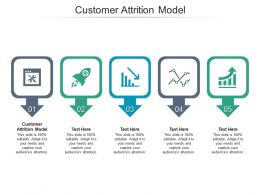 Customer Attrition Model Ppt Powerpoint Presentation Inspiration Gallery Cpb