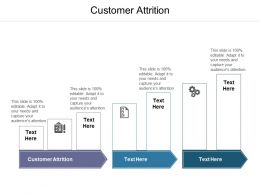 Customer Attrition Ppt Powerpoint Presentation Model Graphics Cpb