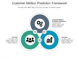 Customer Attrition Prediction Framework Ppt Powerpoint Presentation Pictures Model Cpb