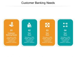 Customer Banking Needs Ppt Powerpoint Presentation Professional Inspiration Cpb