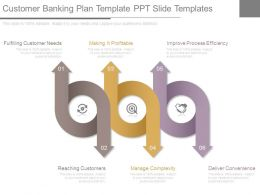 Customer Banking Plan Template Ppt Slide Templates