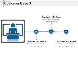 Customer Base 3 Ppt Slide Styles
