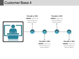 Customer Base 4 Ppt Slide Template