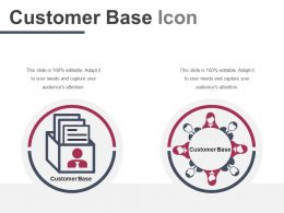 Customer Base Icon