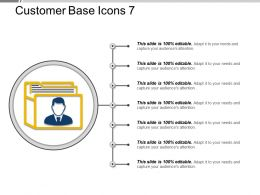 Customer Base Icons 7 Ppt Images Gallery