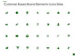 Customer Based Brand Elements Icons Slide Growth I451 Ppt Powerpoint Presentation