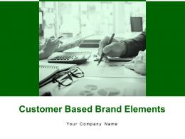 Customer Based Brand Elements Powerpoint Presentation Slides