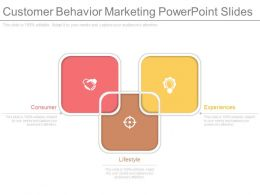Customer Behavior Marketing Powerpoint Slides