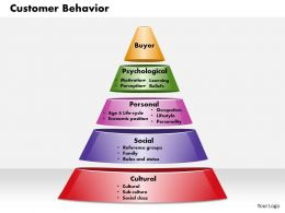 Customer Behavior Powerpoint Presentation Slide Template