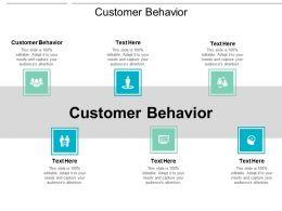 Customer Behavior Ppt Powerpoint Presentation Show Example Topics Cpb