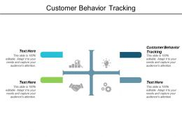 Customer Behavior Tracking Ppt Powerpoint Presentation Guidelines Cpb
