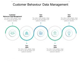 Customer Behaviour Data Management Ppt Powerpoint Presentation Inspiration Introduction Cpb