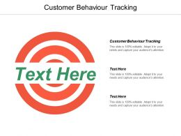 Customer Behaviour Tracking Ppt Powerpoint Presentation Infographic Template Example File Cpb