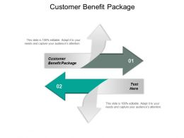Customer Benefit Package Ppt Powerpoint Presentation Ideas Cpb