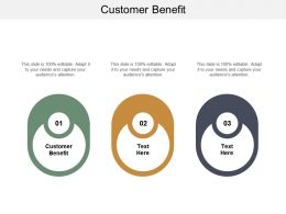 Customer Benefit Ppt Powerpoint Presentation Gallery Icons Cpb