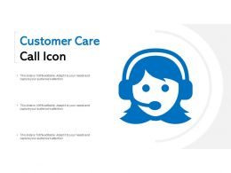 Customer Care Call Icon