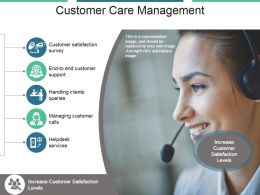 Customer Care Management Powerpoint Slide Inspiration