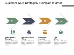 Customer Care Strategies Examples Internet Things Competition Innovation Cpb