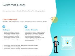 Customer Cases Awesome Diagram Ppt Powerpoint Presentation Gallery Infographic Template