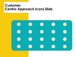 Customer Centric Approach Icons Slide Customer Centric Approac Ppt Presentation Outline Ideas