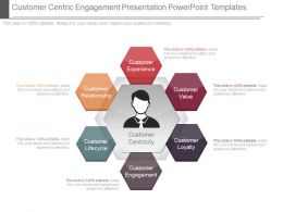 Customer Centric Engagement Presentation Powerpoint Templates