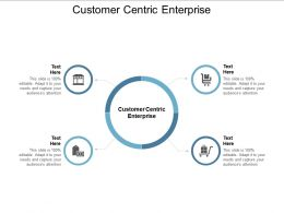 Customer Centric Enterprise Ppt Powerpoint Presentation Professional Graphics Example Cpb