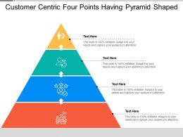 Customer Centric Four Points Having Pyramid Shaped