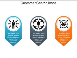 Customer Centric Icons