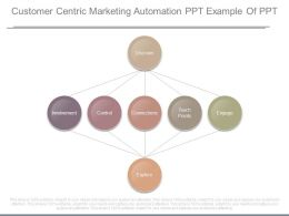 Customer Centric Marketing Automation Ppt Example Of Ppt