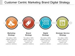 Customer Centric Marketing Brand Digital Strategy