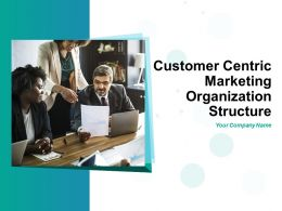 Customer Centric Marketing Organization Structure Powerpoint Presentation Slides