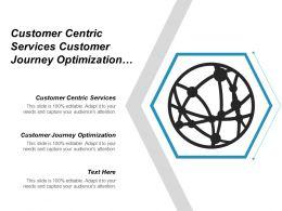Customer Centric Services Customer Journey Optimization Customer Experience Cpb