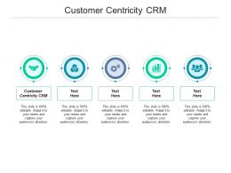 Customer Centricity CRM Ppt Powerpoint Presentation Inspiration Background Image Cpb