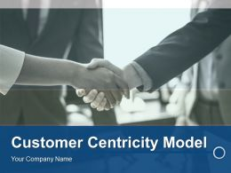 Customer Centricity Model Powerpoint Presentation Slides