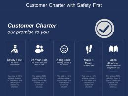 Customer Charter With Safety First
