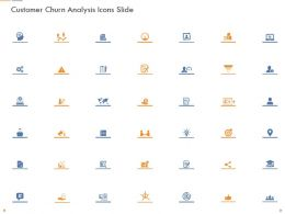 Customer Churn Analysis Icons Slide Ppt Powerpoint Presentation Visual Aids Layouts