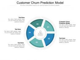 Customer Churn Prediction Model Ppt Powerpoint Presentation Model Clipart Cpb