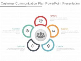 Customer Communication Plan Powerpoint Presentation