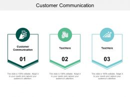 Customer Communication Ppt Powerpoint Presentation Pictures Introduction Cpb