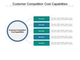 Customer Competition Cost Capabilities Ppt Powerpoint Presentation Outline Cpb