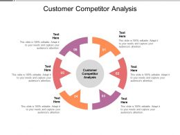 Customer Competitor Analysis Ppt Powerpoint Presentation Icon Clipart Cpb