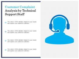 Customer Complaint Analysis By Technical Support Staff