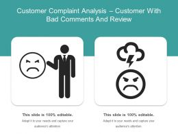 Customer Complaint Analysis Customer With Bad Comments And Review