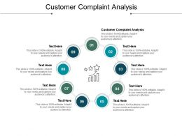 Customer Complaint Analysis Ppt Powerpoint Presentation Show Icon Cpb