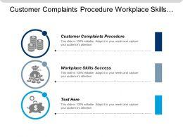 Customer Complaints Procedure Workplace Skills Success Work Skills Employability Cpb